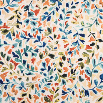 Leafy Vine Duck Cloth Fabric