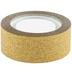 Gold Glitter Decorative Tape