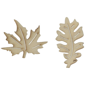 Leaf Wood Shapes