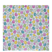 "Doodle Easter Eggs Scrapbook Paper - 12"" x 12"""