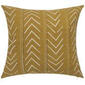 Mustard & Beige Arrow Pillow Cover