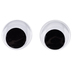 Sew-On Wiggle Eyes - 18mm