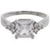 Clear Rhinestone Ring