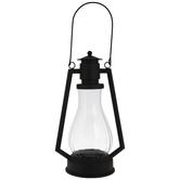 Black Vintage Metal Lantern