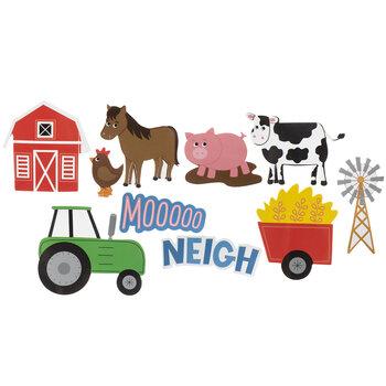 Barn Animals Foam Stickers