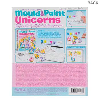 Mould & Paint Glitter Unicorns Kit