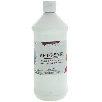 White Art-I-San Tempera Paint