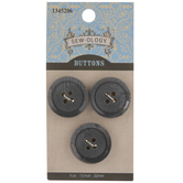 Gray Marble Round Buttons