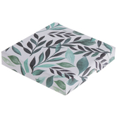 Green & White Botanical Gift Card Box