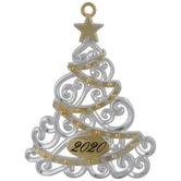 2020 Christmas Tree Ornament