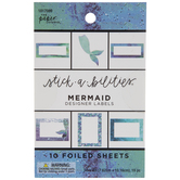 Mermaid Designer Labels