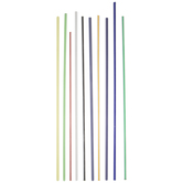 Opalina Filigree Glass Rods