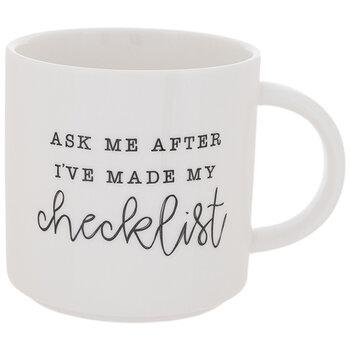 Ask Me After My Checklist Mug