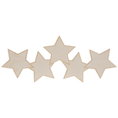 Star Banner Wood Shape