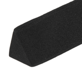 Black Cosplay Triangle EVA Foam Dowels