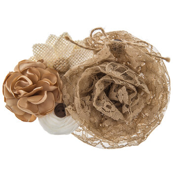 Natural Flower Cluster Embellishment