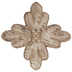 Natural Rustic Flower Wood Wall Decor
