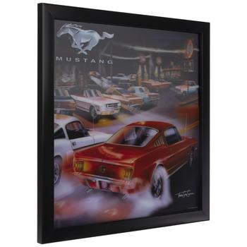 Ford Mustang Lenticular Wall Decor