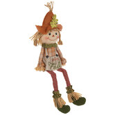 Welcome Fall Scarecrow Shelf Sitter