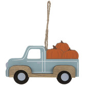 Pumpkin Truck Ornament