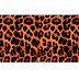 Leopard Faux Leather Ribbon - 8