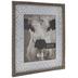 Whitewash Embossed Metal Wall Frame - 8