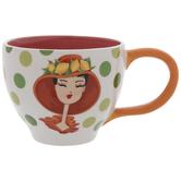 Girl With Hat Mug