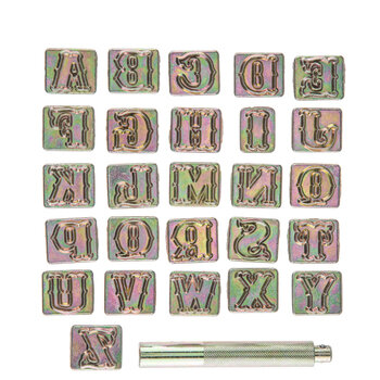 Standard Style Alphabet Stamps