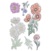 Daisies Clear Stamps