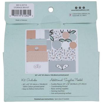 Wildlife Storage Bins Needle Art Kit
