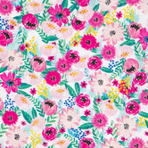Floral & Berry Apparel Fabric