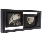 Black Offset Wood Collage Frame