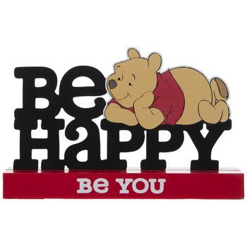 Winnie The Pooh Be Happy Metal Decor