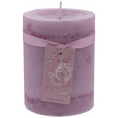 Sweet Peony Pillar Candle