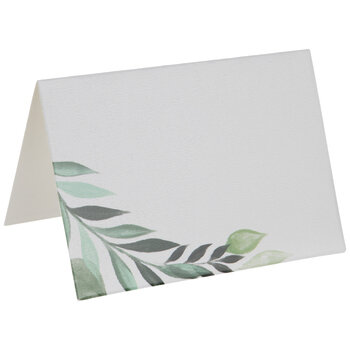 Green Leaves Place Cards