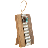 Wood Decor With Clip