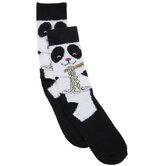 Panda Noodles Crew Socks