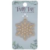 Glitter Snowflake Pendant