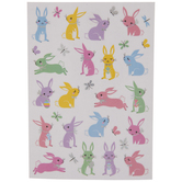Spring Bunnies Stickers