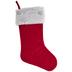 Red Velvet & Snowflake Stocking