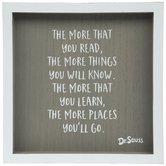More Places You'll Go Dr Seuss Wood Wall Decor