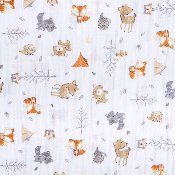 Cozy Campers Gauze Fabric