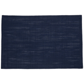 Navy Woven Paper Placemat