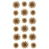 Sunflower Glitter Stickers