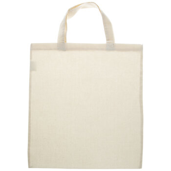 Natural Lightweight Canvas Tote Bag