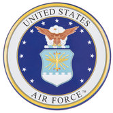 Air Force Metal Magnet