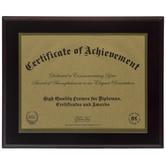 "Document Wood Wall Frame - 11"" x 8 1/2"""