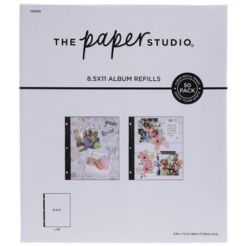 """Album Refill Pages - 8 1/2"""" x 11"""""""