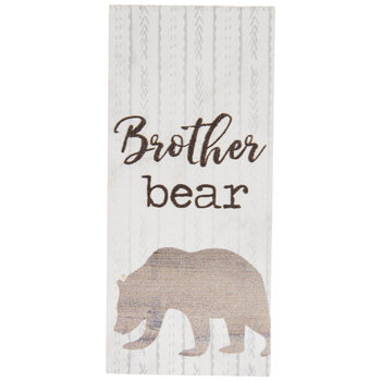 Brother Bear Wood Decor
