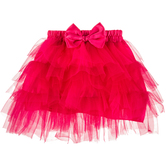 Hot Pink Layered Ruffle Tutu - 12-36 Months